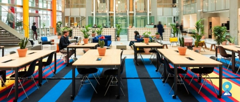 Coworking space in Okhla follows workplace guidelines in response to COVID-19