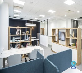 Co-working Space in Magarpatta, Pentagon, Pune