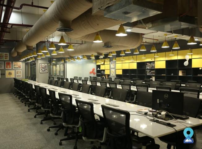 Co-working centre in Saket District Center, New Delhi