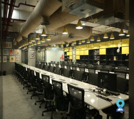 Co-working centre in Saket District Center, New Delhi